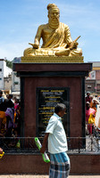 Statue of Tiruvalluvar, great Tamil writer who lived around the start of our Era.