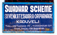 Sign of the orphanage.