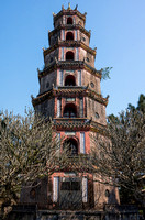 Tower in pagoda.
