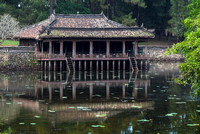 Pavilion at the lake.