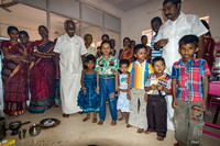The six kids for which we have the Vijayadasam ceremony.