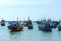 Fishing vessels.