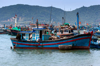 A couple of hundred fishing vessels.