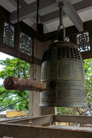 Classic bell at pagoda.
