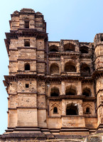 Tower of the Chaturbhuj temple.