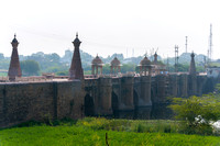 Medieval bridge at the approach of Gwalior.