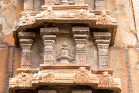 Detail of the Gopuram wall.