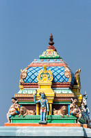 Vimanam on top of small Ayyanar shrine.