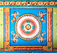 Detail of the ceiling of the mandapam.