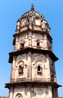 Tower of the temple.