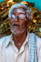 Old farmer in Nilavagilukaval.