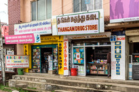 Small shops in Ooty.