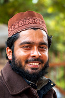 INDIA: Happy Muslim fellow, eager to have his picture taken.