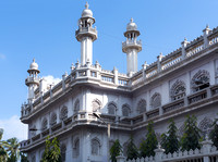 Decorations of the Jamia Masjid, Grand Mosque in Old town.