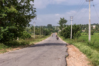 Quality of rural roads.
