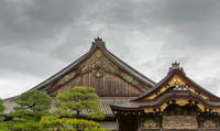Roof structure of the Ninomaru Palace.