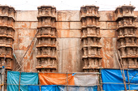 Side wall of the Unfinished Gopuram.