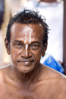 Man at Amma Mandapam,