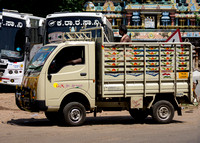 Jet Airways delivery van.