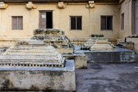 Old tombs at the mosque grounds.